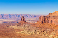 MESA und Butte in canyonlands Nationalpark Lizenzfreies Stockbild