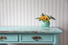 Mesa velha colorida Foto de Stock Royalty Free