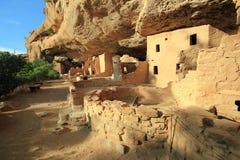 Mesa Verde云杉树上小屋 库存图片