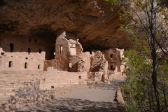 Mesa Verde国家公园 库存照片