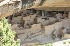 Mesa Verde废墟 库存照片