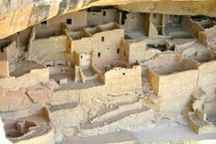 Mesa Verde废墟 免版税库存照片