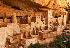 Mesa Verde -镇土地 免版税库存图片
