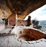 Mesa verde. National park colorado stock image