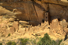 Mesa Verde. Cliff Dwellings at Mesa Verde National Park, USA stock image