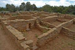 Κατοικίες απότομων βράχων στο εθνικό πάρκο Mesa Verde, Κολοράντο Στοκ Εικόνα