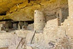 Mesa Verde Anasazi Cliff Dwellings Royaltyfri Fotografi