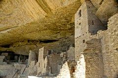 Mesa Verde Anasazi Cliff Dwellings Royaltyfria Bilder