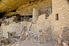 Mesa Verde Anasazi Cliff Dwellings Arkivfoton