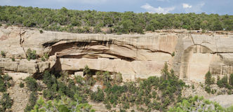 Mesa verde cliff dwelling Stock Photography