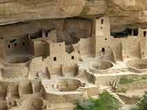 Mesa Verde Cliff Palace. This is the Mesa Verde Cliff Palace near Durango Colorado Royalty Free Stock Photo