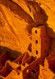 Mesa Verde - det fyrkantiga huset fördärvar Royaltyfri Fotografi