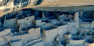 Mesa Verde National Park - Colorado, de V.S. royalty-vrije stock foto