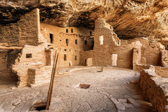 Mesa Verde National Park in Colorado, de V.S. Royalty-vrije Stock Afbeelding