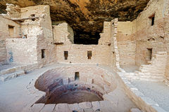 Mesa Verde National Park i Colorado, USA Royaltyfria Foton