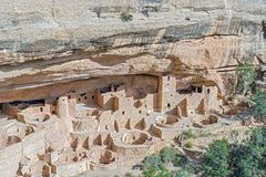 Mesa Verde National Park i Colorado, USA Arkivfoton