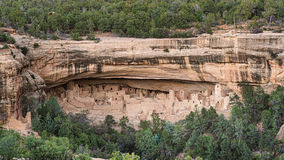 Mesa Verde National Park i Colorado, USA Royaltyfri Fotografi