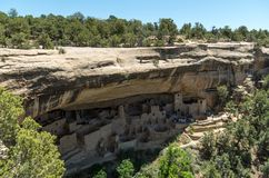 Mesa Verde National Park. View at the Mesa Verde National Park Royalty Free Stock Photos