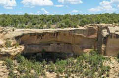 Mesa Verde National Park. View at the Mesa Verde National Park Stock Photos
