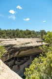 Mesa Verde National Park. View at the Mesa Verde National Park Stock Photography