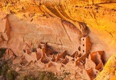 Mesa Verde - rovina quadrata della Camera fotografia stock libera da diritti