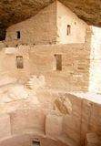 Mesa Verde Ruins 4. A section of the Spruce Tree House ruins at Mesa Verde National Park in Colorado. These cliff dwellings were built by the ancient Anasazi Royalty Free Stock Photography