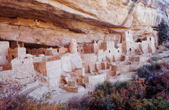 Mesa Verde Ruins In Colorado Stock Photos