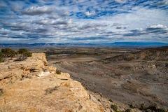 Mesa Vista av McInnis kanjoner royaltyfri bild