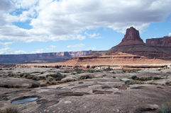 Mesas在Canyonlands 免版税图库摄影