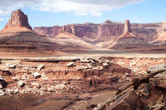 Mesas in Canyonlands Stock Photography
