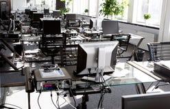 Mesas de escritório Fotos de Stock