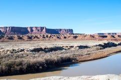 Mesas em Canyonlands Fotografia de Stock Royalty Free