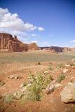 Mesas en el desierto Fotos de archivo libres de regalías