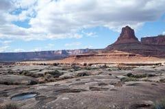 Mesas i Canyonlands Royaltyfri Fotografi