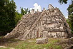 Mesas Temple Chichen Itza Mexico Stock Photo