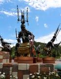 Mescalero spirit dancers