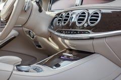 Mescedes Benz S klasy artykuł wstępny Zdjęcie Stock