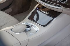 Mescedes Benz S klasy artykuł wstępny Obrazy Royalty Free