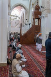 Mescid för två qiblah i Medina royaltyfri foto