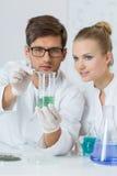 Mescolanza dei composti Fotografie Stock