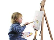 Mescolanza di colore Fotografia Stock