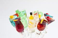 Mescolatori del cocktail Immagine Stock Libera da Diritti