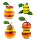 Mescoli la frutta Fotografie Stock