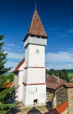 Mesendorf fortified church in Transylvania, Romania royalty free stock image