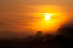 mesendorf wschód słońca Obrazy Stock