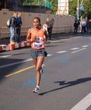 Meseret Hailu chez Berlin Marathon 2015 Images libres de droits