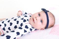 2 meses preciosos de bebé Foto de archivo libre de regalías