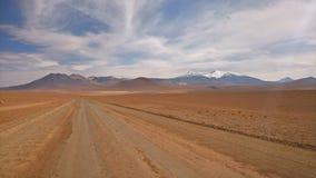 Meseta chilena - San Pedro de Atacama Foto de archivo libre de regalías