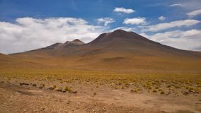 Meseta chilena - San Pedro de Atacama Imagen de archivo libre de regalías