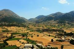 Meseta de Askifou en Creta Foto de archivo libre de regalías